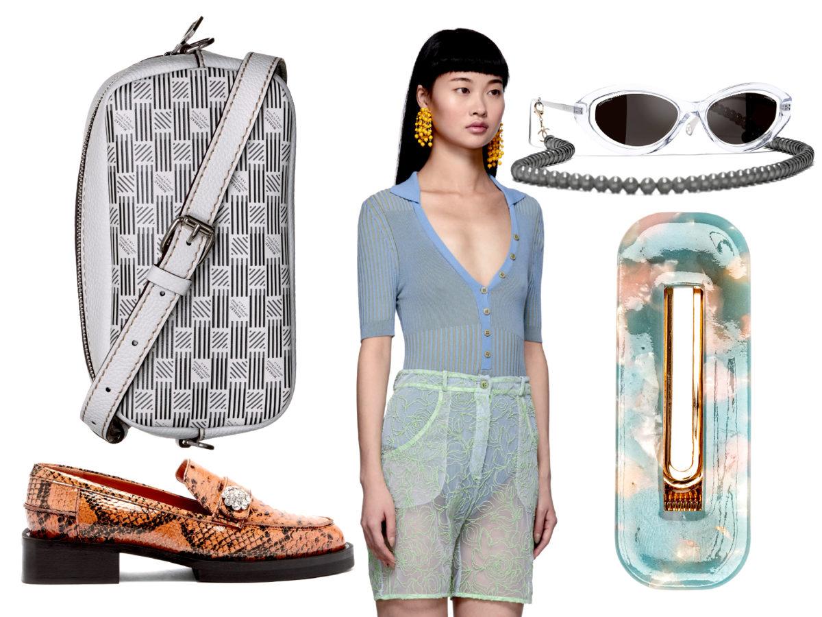 1NSTANT-SHOP ; Chanel ; SSense.com ; Ganni ; Matchesfashion.com ; Moreau Paris