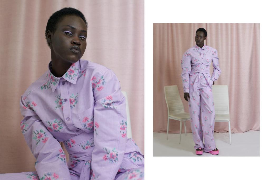Yena Deng porte un look PHILOSOPHY