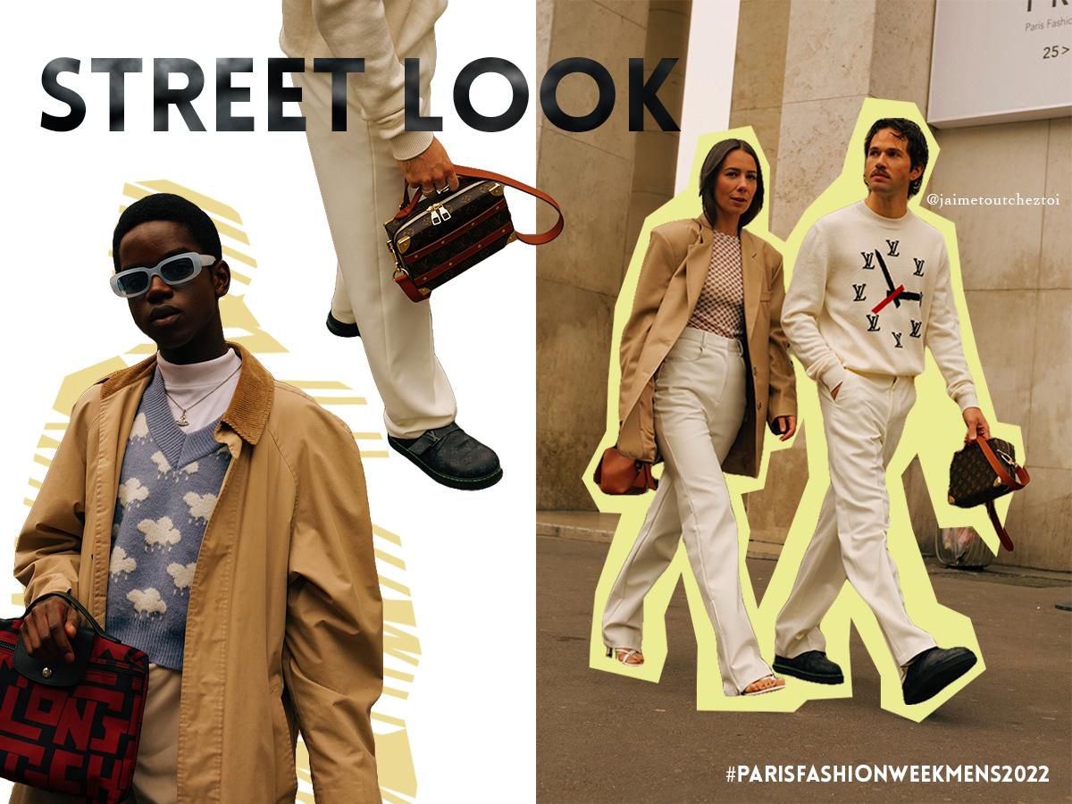La Paris Fashion Week mode masculine SS22 dans l'ère du temps 1NSTANT