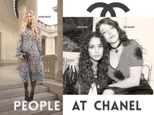 Alerte People au défilé Chanel de la Haute Couture Hiver 2021