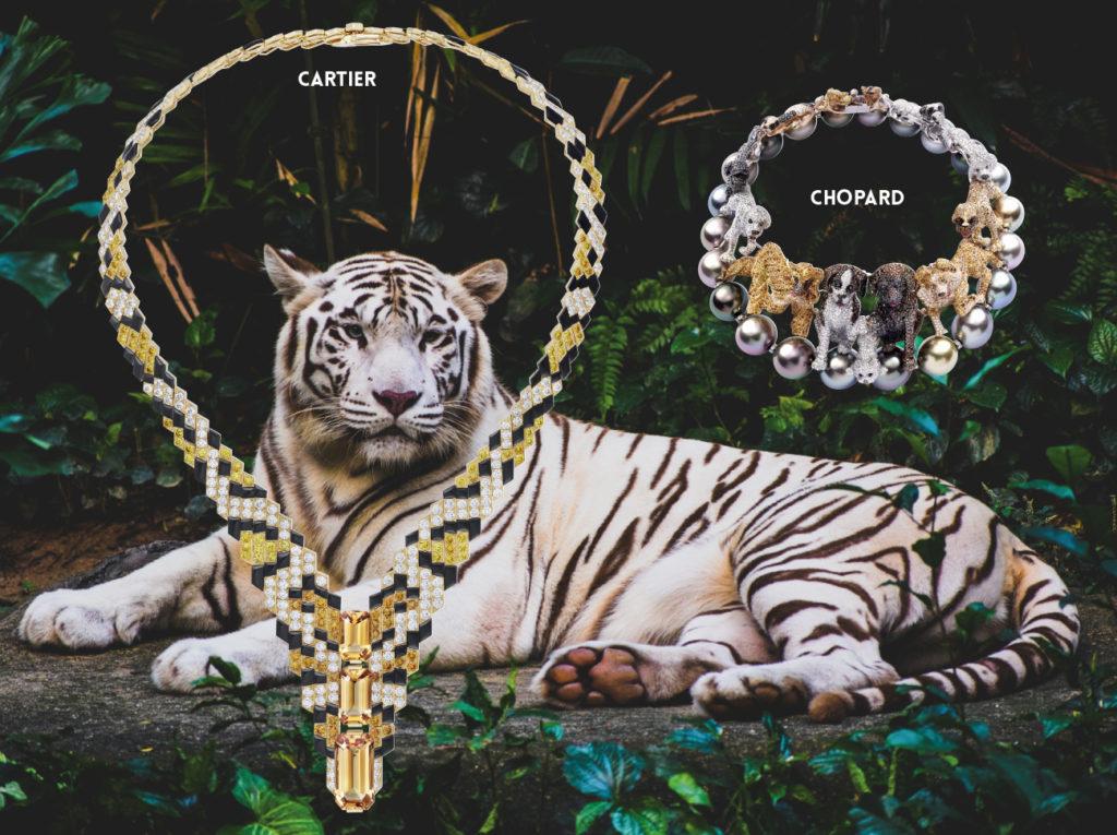 CARTIER : Bague « PARHELIA » Collection Sixième sens, platine serti d'un saphir taille cabochon de 20,51 carats, d'émeraudes et diamants. 1NSTANT BIJOUX