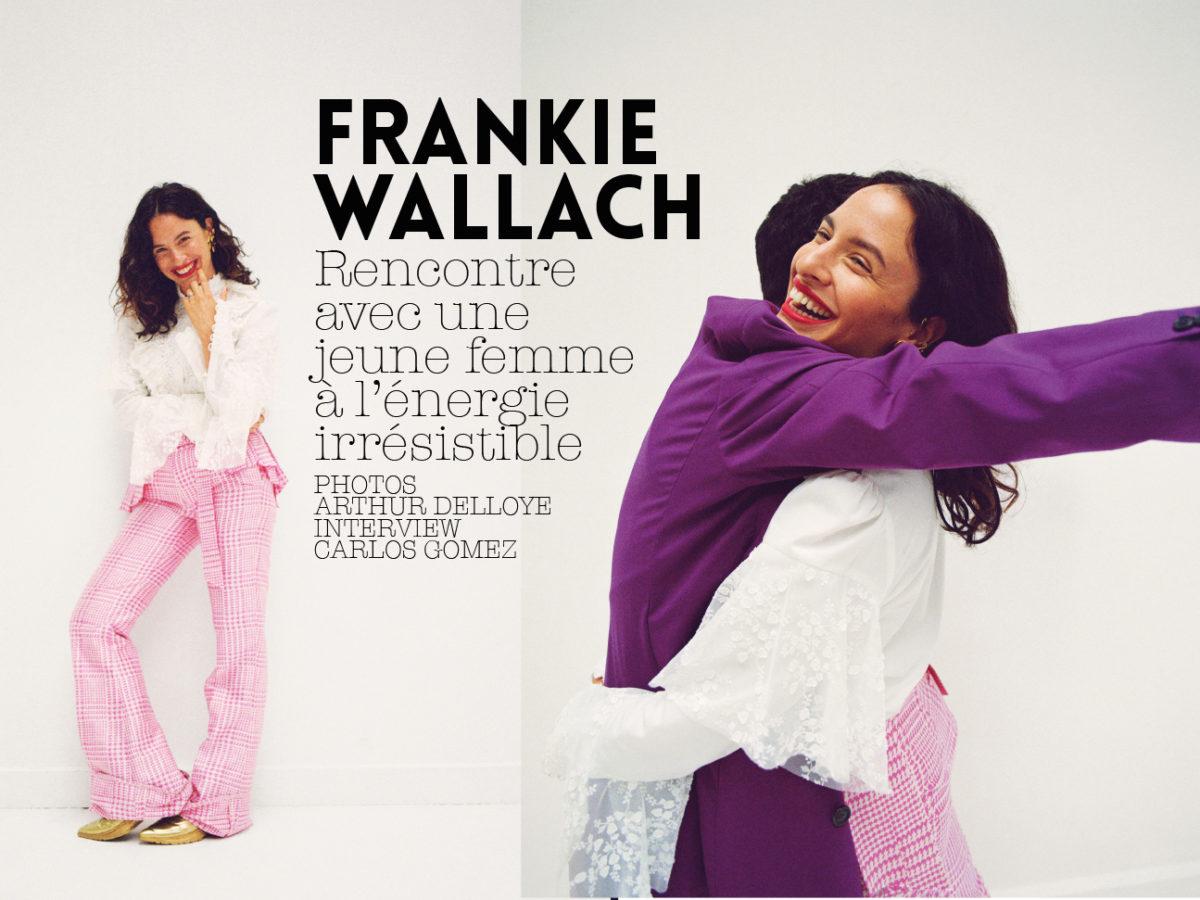 FRANKIE WALLACH 1NSTANT INTERVIEW 1